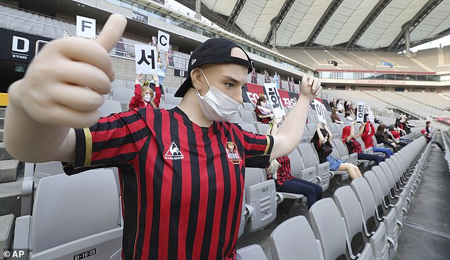 See what happened after South Korean club FC Seoul filled empty stands with s3x dolls in place of fans