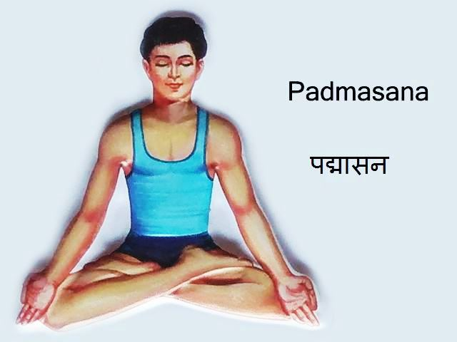 Padmasana: Padmasana in Hindi