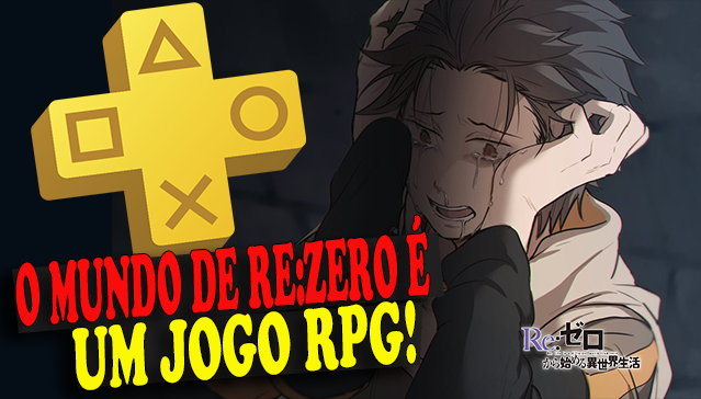 O MUNDO DE RE:ZERO É UM JOGO DE RPG! Curiosidades