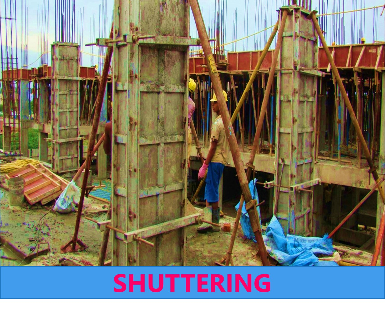 Formwork, Shuttering, Centering, and Staging