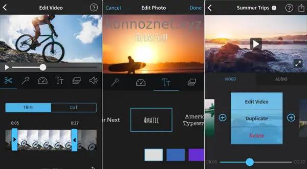 أفضل تطبيقات تحرير الفيديو على  iPhone