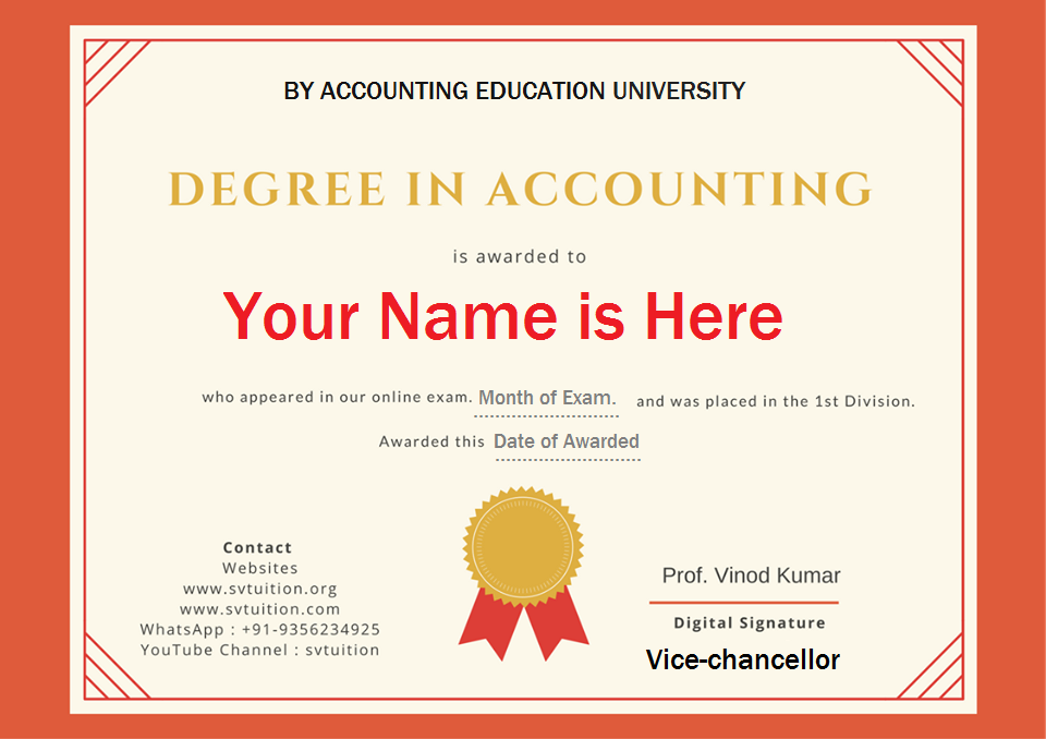 accounting course certificate international benefits svtuition