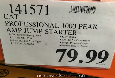 Deal for the CAT CJ1000CP Professioinal Power Station with Jump Starter and Air Compressor at Costco