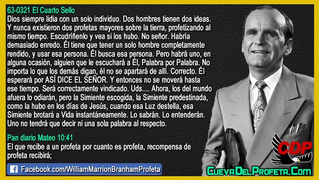 Quien es el elegido de Dios - William Branham en Español