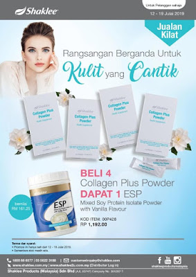 promo collagen powder shaklee