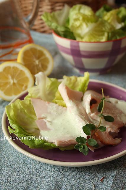 Tacchino Lenti grigliato con salsa allo yogurt