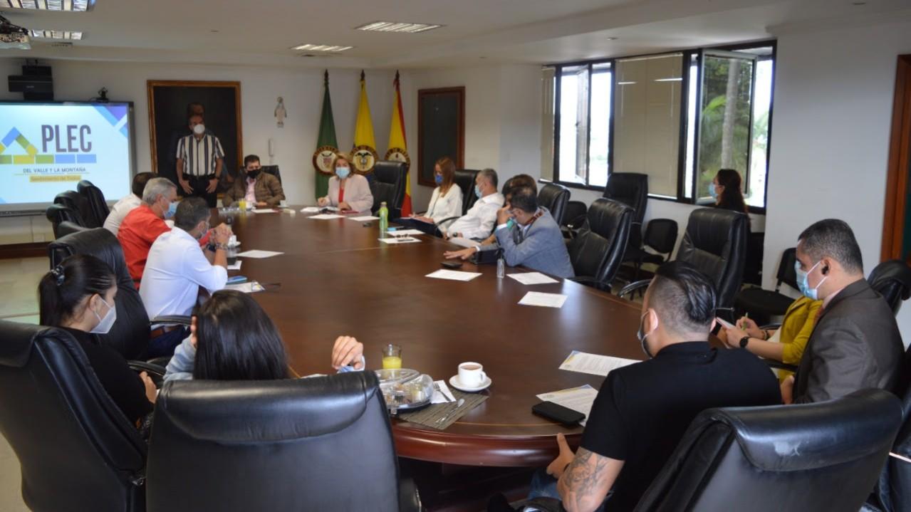 Diputados evaluaron avances del proyecto Plataforma Logística del Valle y la Montaña