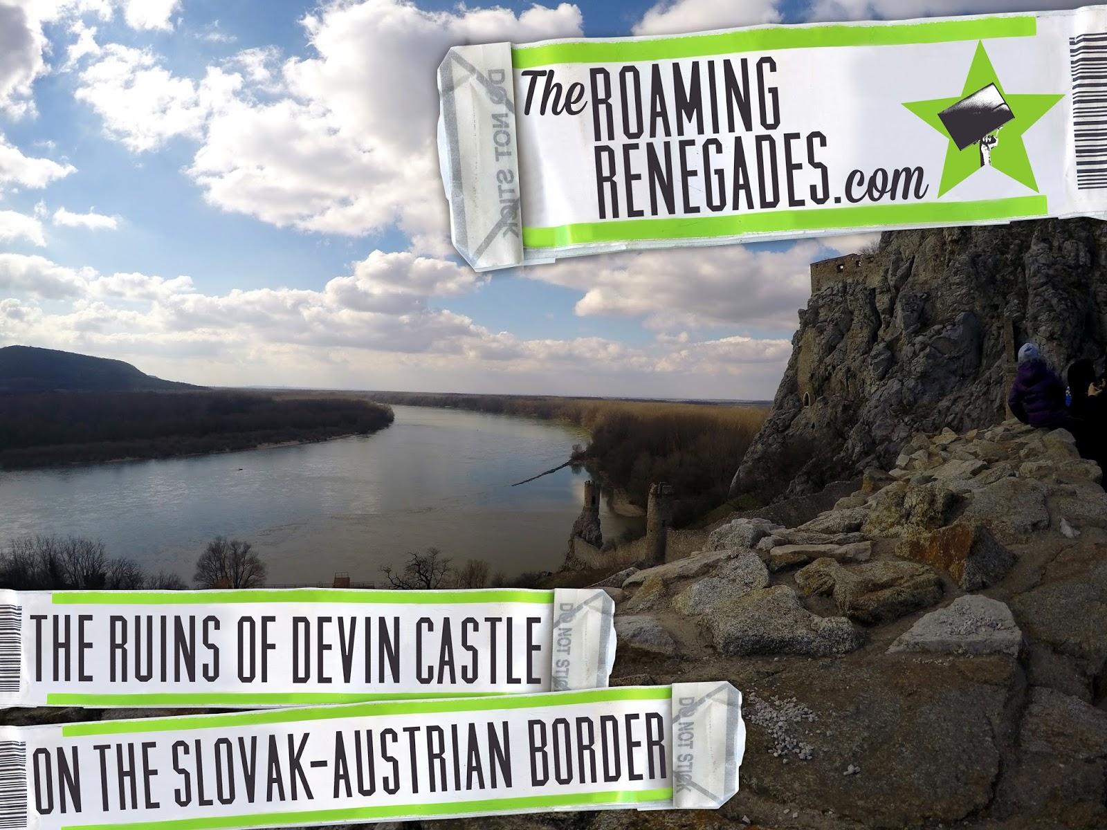 Devin Castle, Ruins, Slovakia, Bratislava, Maidens tower, Austria border, Iron Curtain.