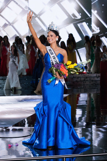 Miss Philippines, Pia Alonzo Wurtzbach, Miss Universe 2015 winner