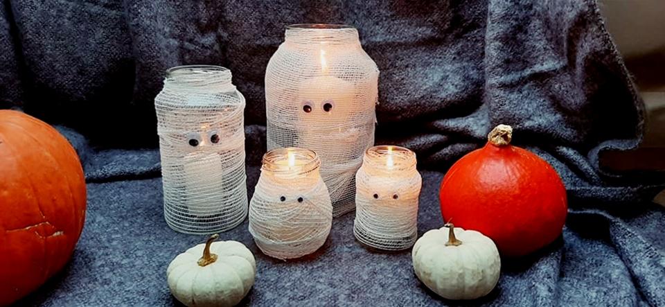 dekoracje na halloween diy