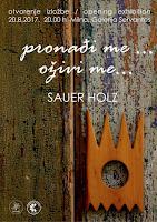 Sauer Holz, izložba Pronađi me, oživi me... - Milna slike otok Brač Online