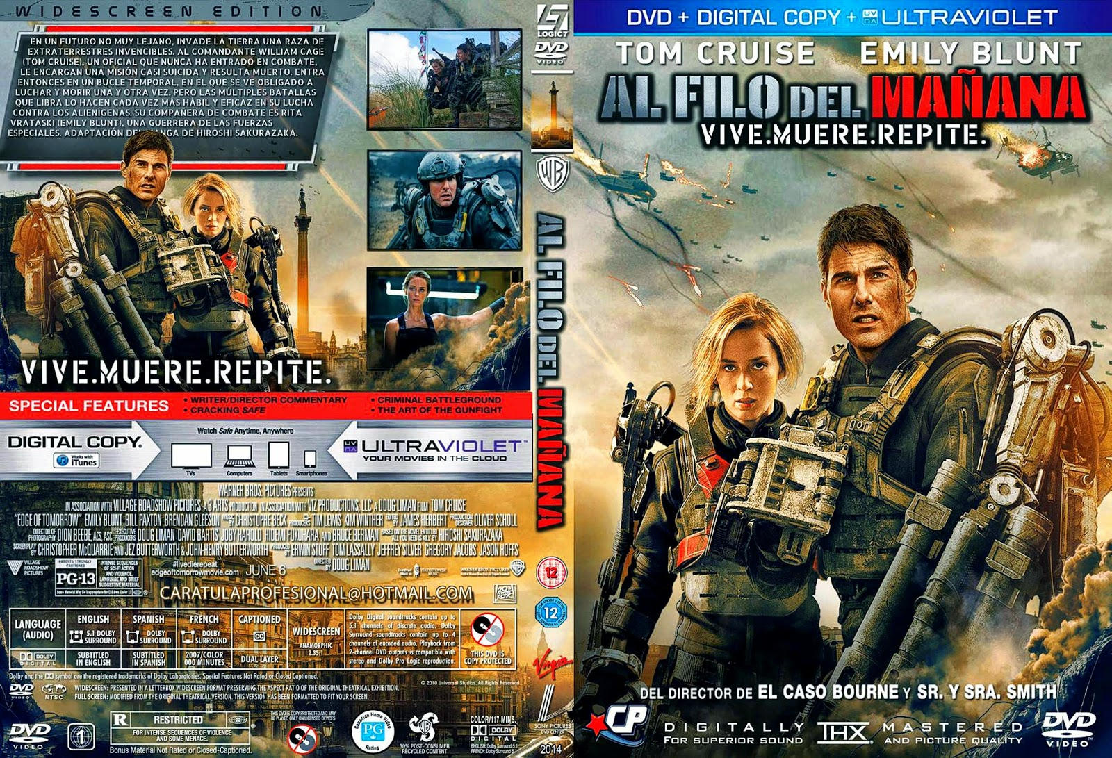 99 Edge Of Tomorrow Dvd Covers Labels By Covercity Edge Of