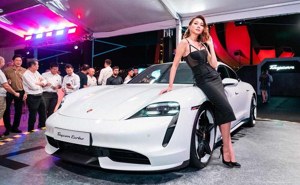Porsche Taycan ra mắt tại Châu Á - Thái Bình Dương