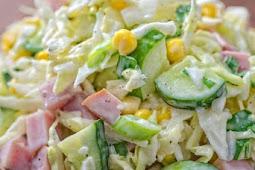 ★★★★★     Cabbage and Ham Salad
