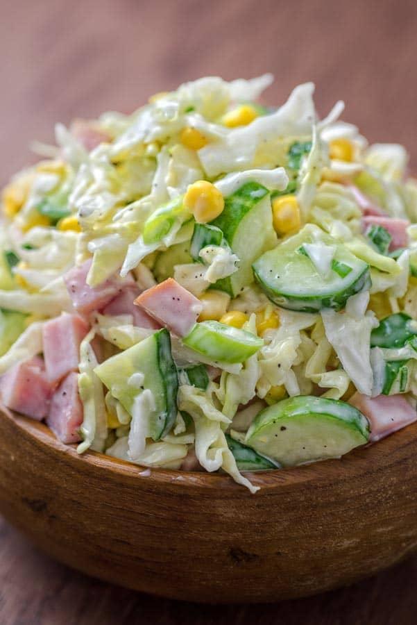★★★★★ |   Cabbage and Ham Salad