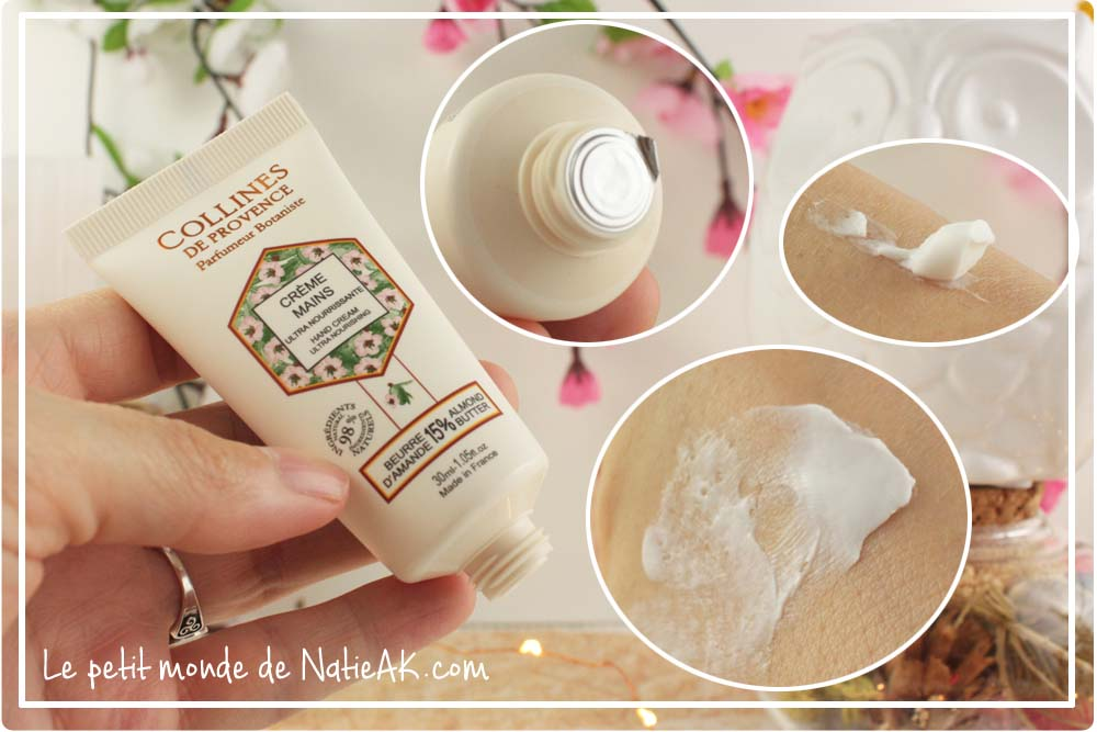 crème mains amande et beurre de karité