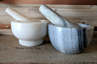 Mortar and pestle sets