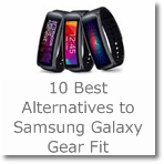 10 Best Alternatives to Samsung Galaxy Gear Fit