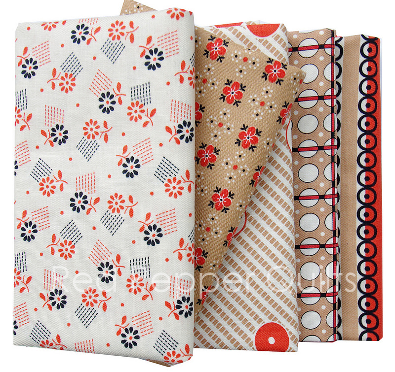 Stonington by Denyse Schmidt for Free Spirit Fabrics | Red Pepper Quilts 2016