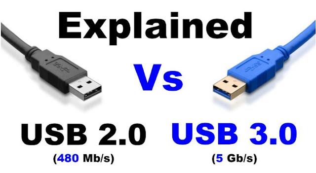 Perbedaan USB 2.0 dan 3.0