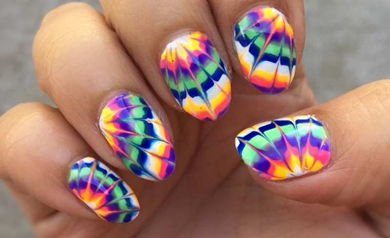 Tie-Dye Nail Looks That Everyone Needs To Try