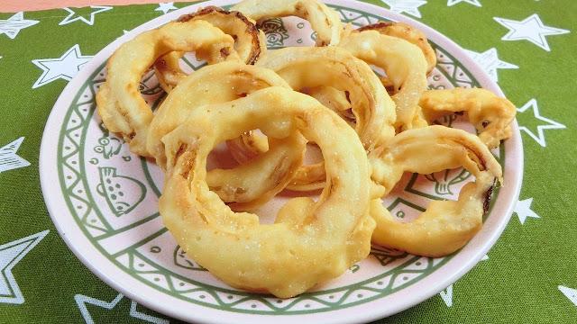 誰でもカリカリ食感にできるオニオンリング(フライ)の作り方/レシピ