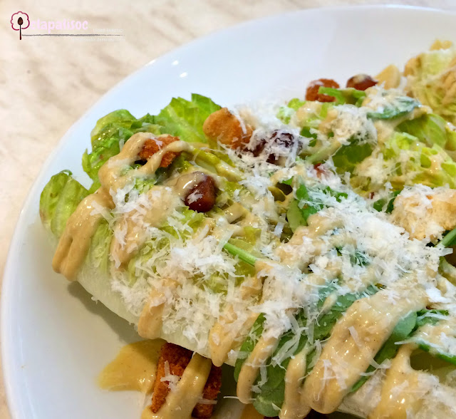 Grilled Caesar Salad from Little Owl Cafe