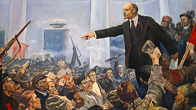 An introduction to the history of lenin and the bolshevik seizure of power in october 1917