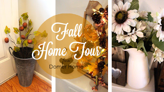 MINI FALL HOME TOUR