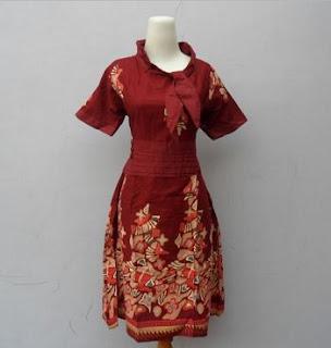 Model Baju Batik Modern untuk Kerja