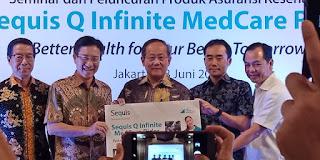 asuransi bersama sequis, sequis life, asuransi kesehatan sequis, sequis q infinite medcare rider, asuransi untuk kaum millenial