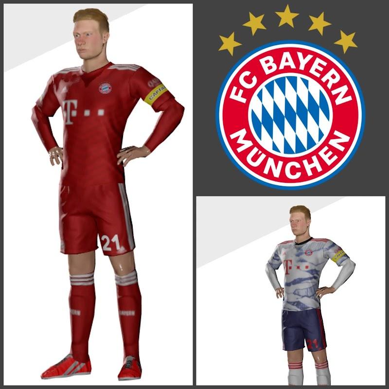 Kit Bayern Munich Dream League Soccer 2022 - Bayern Muchen kit 2022 DLS