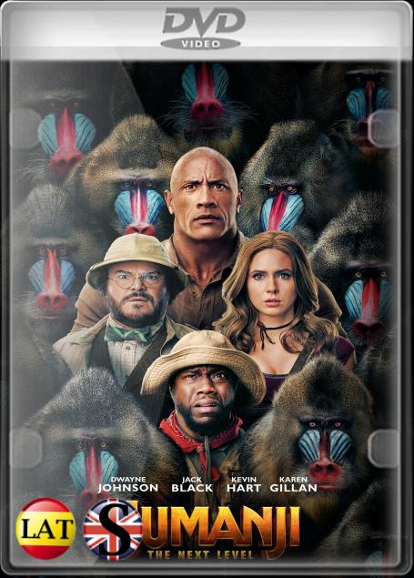 Jumanji: El Siguiente Nivel (2019) DVD5 LATINO/INGLES