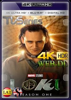 Loki (Temporada 1) WEB-DL 4K UHD HDR LATINO/INGLES