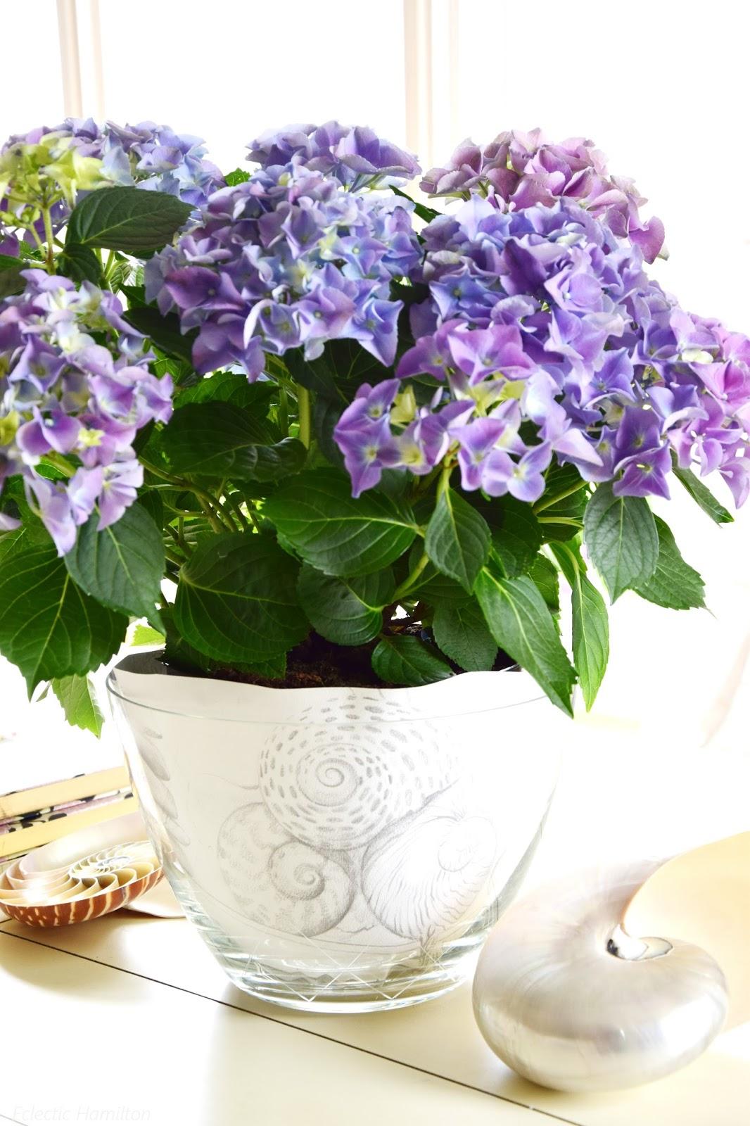 Mein Wochenende Und Ideen Zur Tischdeko Mit Lupinen Hortensien