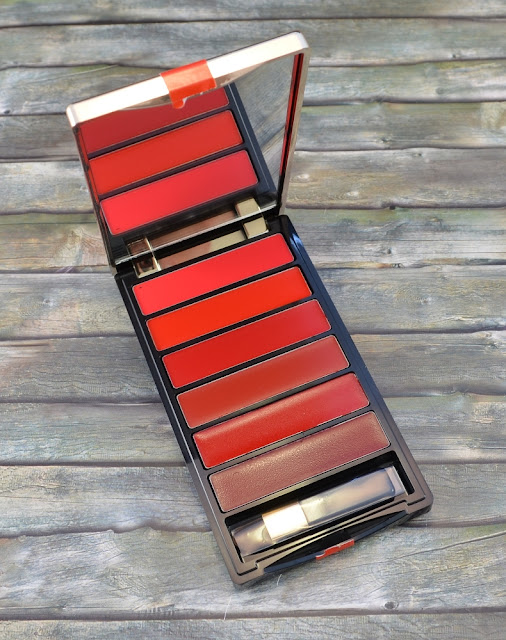 L'oréal color riche la palette lips red geöffnet
