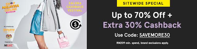 Jimat berganda di Zalora dengan Promosi RM50 OFF Grabpay