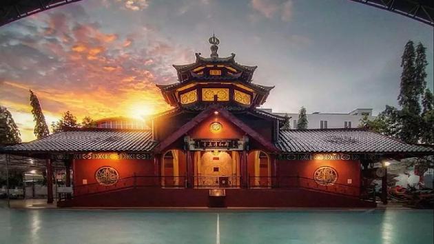 Berkat Viral, Masjid Muhammad Cheng Hoo yang Berlokasi di Jalan Ibrahim Ripin, Kenali Asam Bawah, Kotabaru, Kota Jambi, Dikenal Seantero Dunia