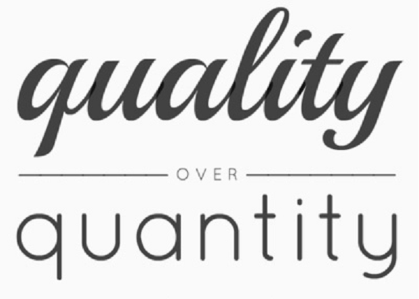 Quality matters not quantity essay writer