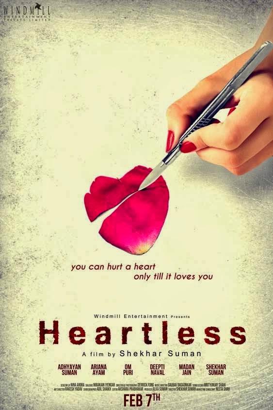 Gallery Heartless 2014 Movie Poster |Heartless Movie 2014 Heroine