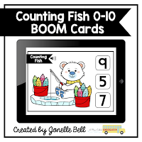 Winter themed Kindergarten or Preschool digital Boom Cards that can be used for centers or assessments in person or remotely.