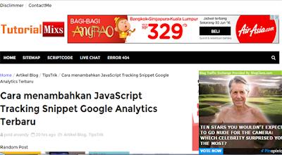 Cara menampilkan iklan Google Adsense, yang tidak muncul di HomePage