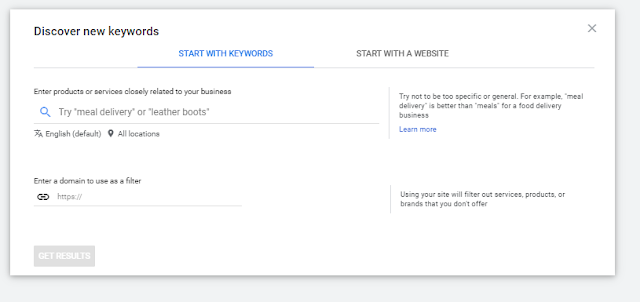 PPC Agency Start with keywords research