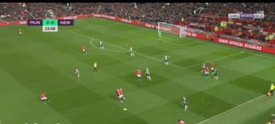 اهداف مباراة مانشستر يونايتد ونيوكاسل يونايتد
