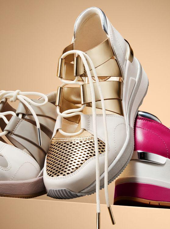 Michael Kors Beckett Leather Sneaker