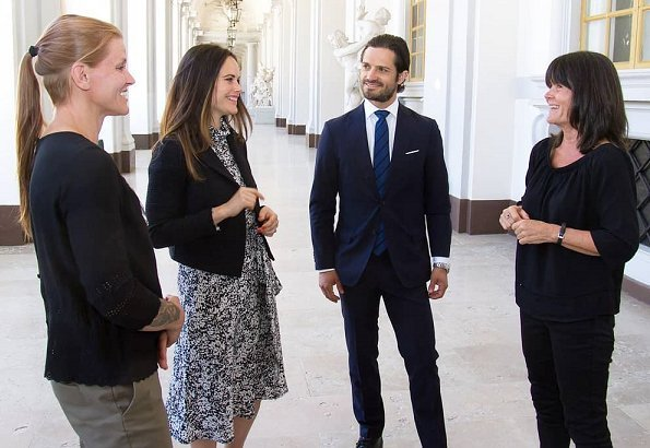 Princess Sofia wore Greta Stockholm dress