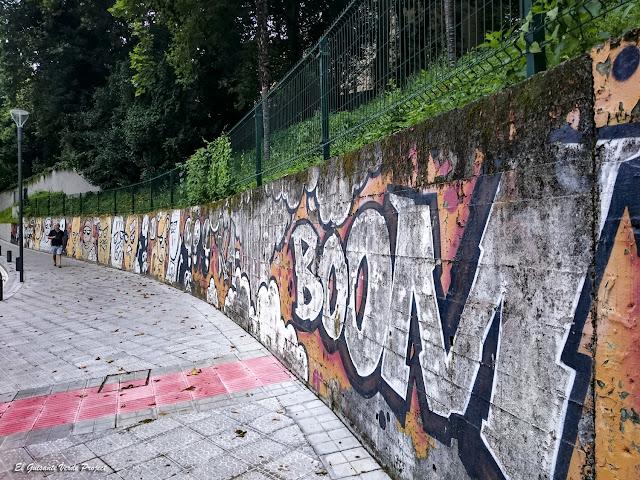 Mural 'Boom' - Bilbao, por El Guisante Verde Project