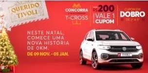 Promoção Tivoli Shopping Natal 2019 Concorra T-Cross 0KM