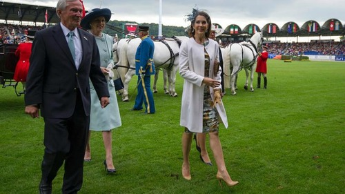 The Crown Princess of Denmark recycled a Ole Yde dress