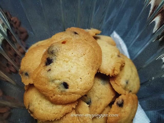 Resepi biskut chocolate chip